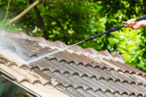 Roofing Company Taking Steps To Keep Roof Free Of Debris