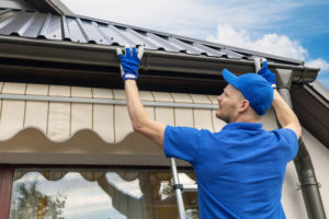 Roofing Company Making Roof Repairs Before Winter