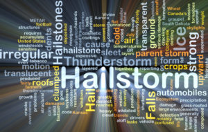 Hailstorms window siding roofing damage